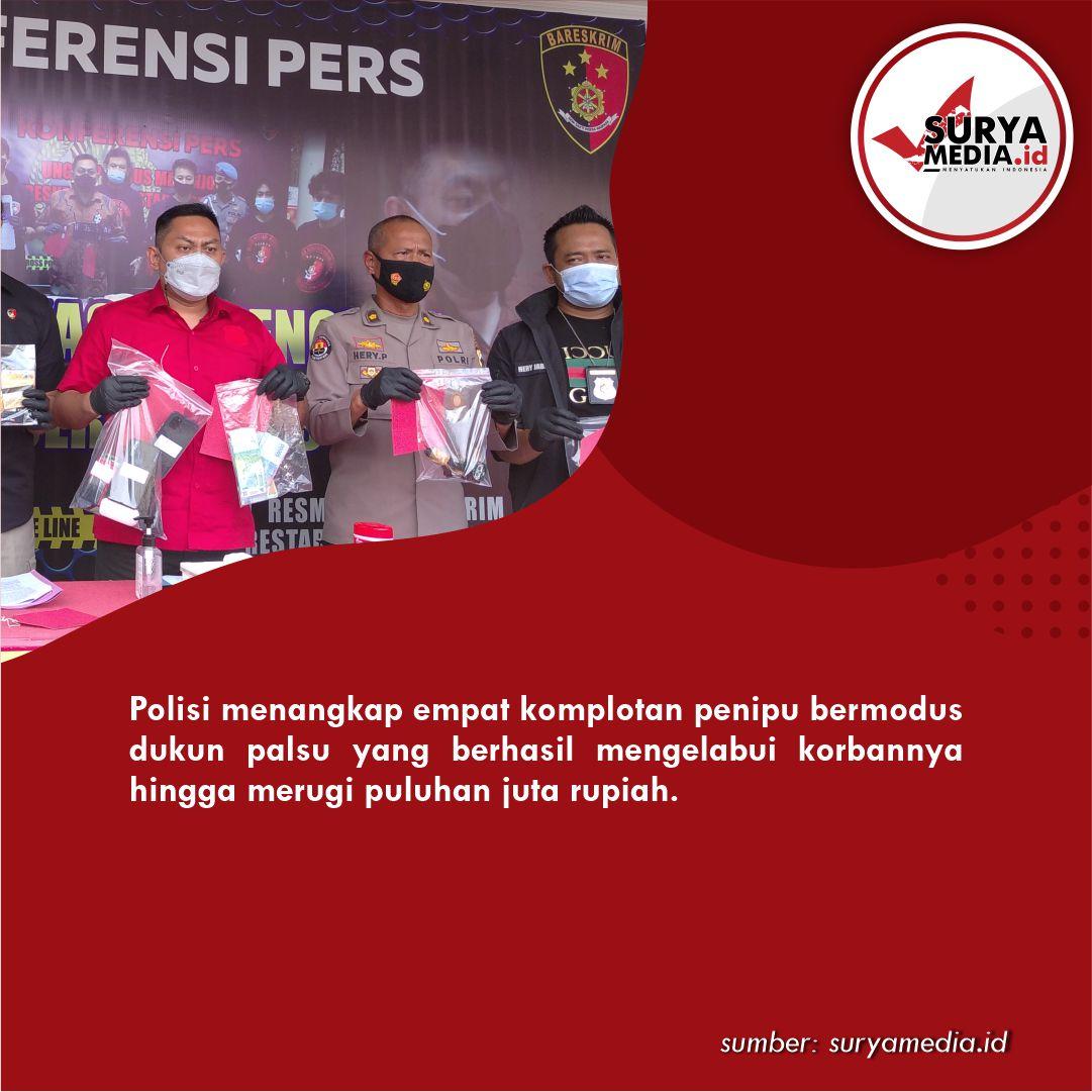 Mengaku Bisa Sembuhkan Guna-Guna, Komplotan Dukun Palsu di Semarang Ditangkap B