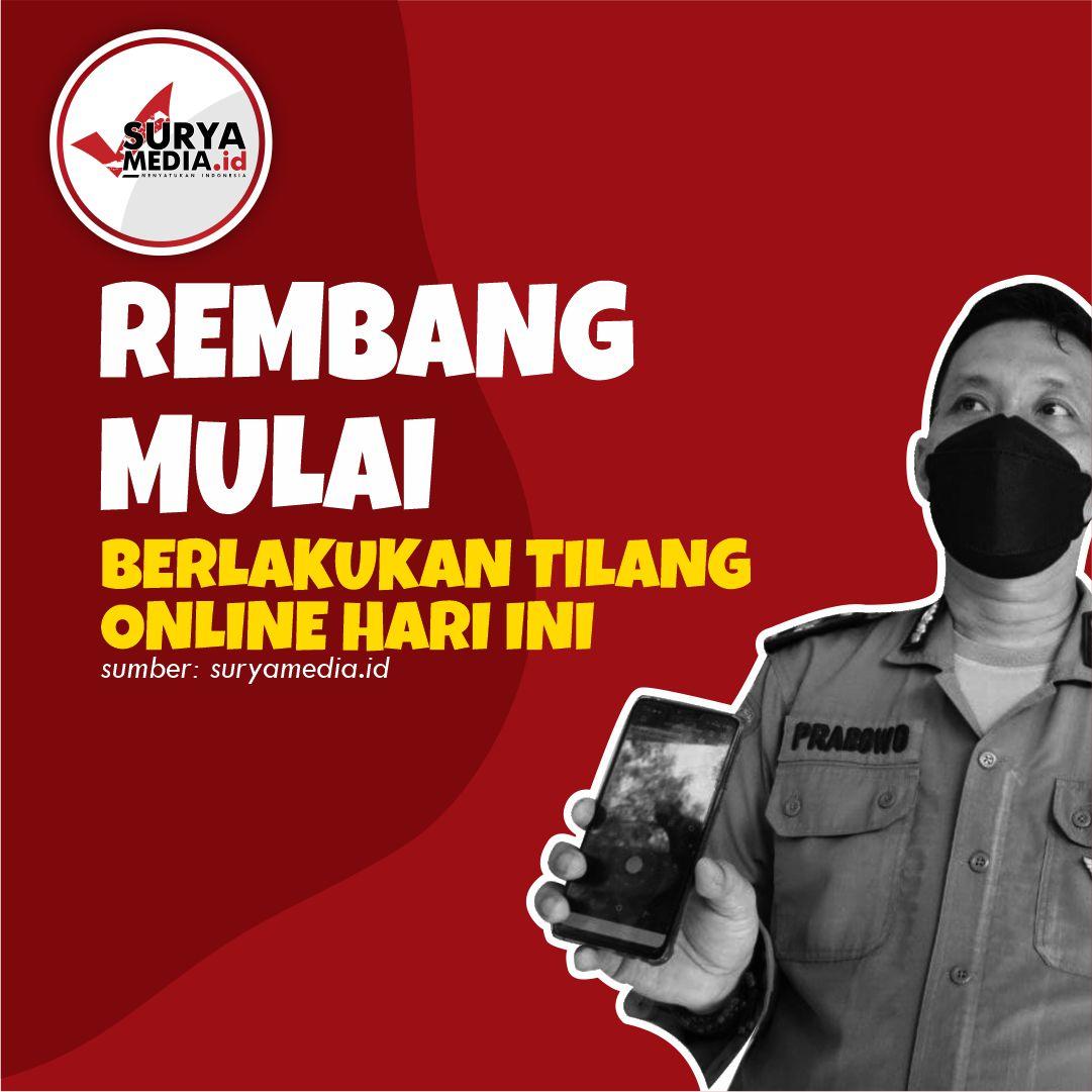 Rembang mulai tilang online A