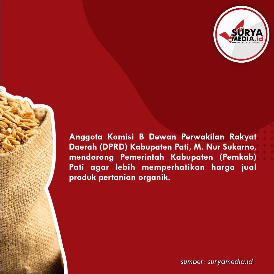 harga produk pertanian Organik B