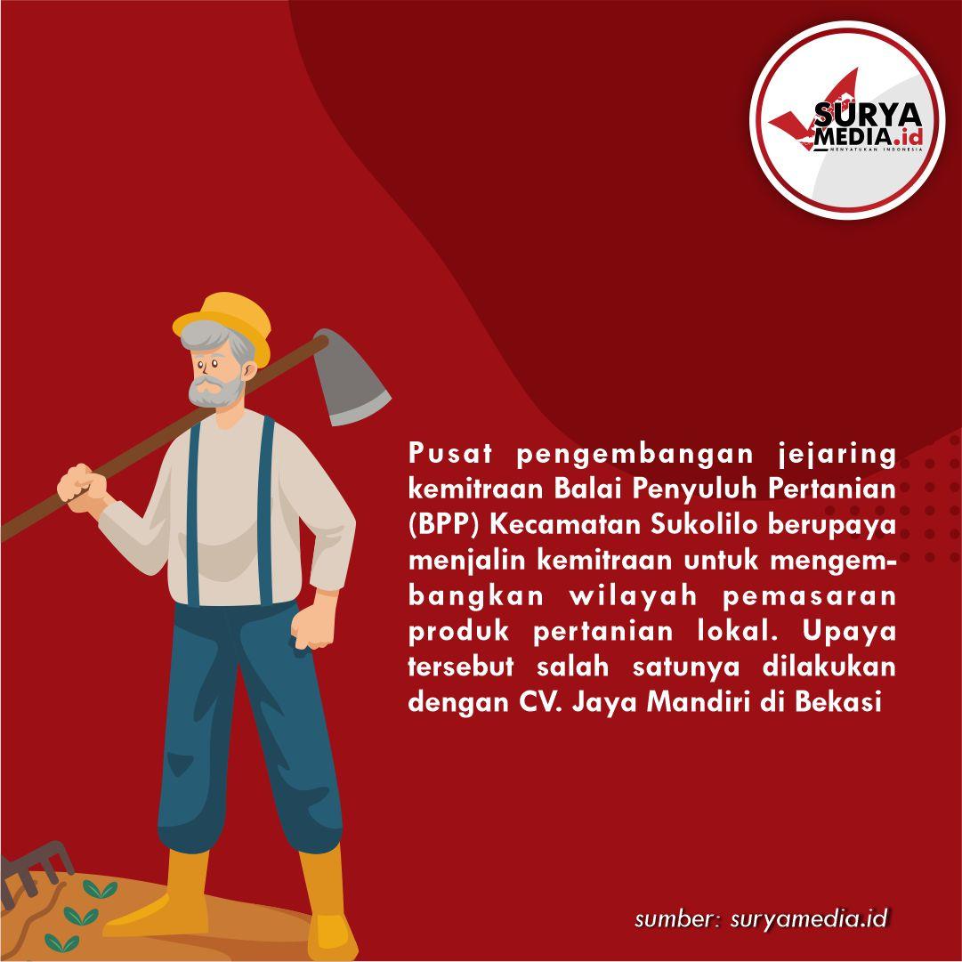 BPP Sukolilo Jalin Kemitraan untuk Pasarkan Hasil Pertanian B