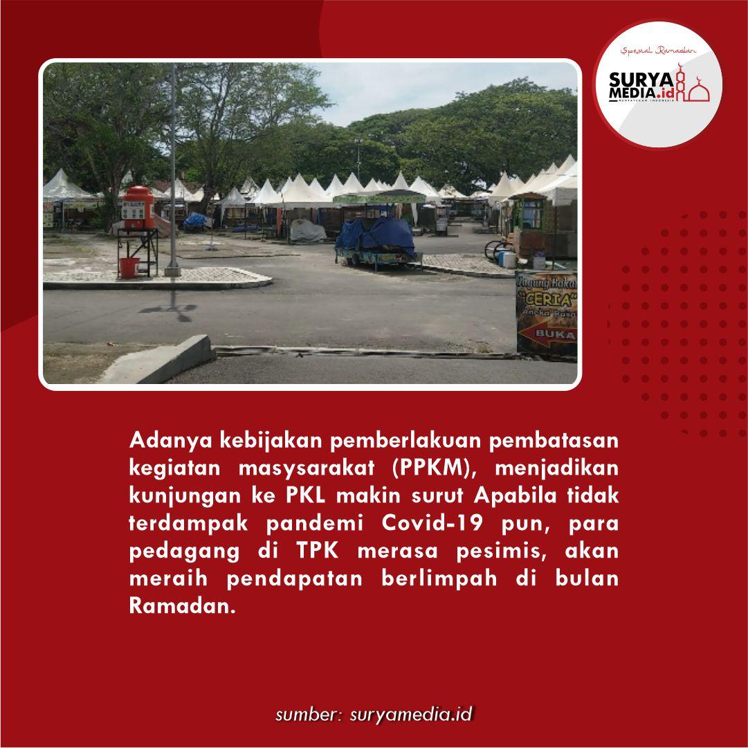 Eks PKL Simpang Lima Pati, Sepi Pengunjung di Bulan Ramadan C