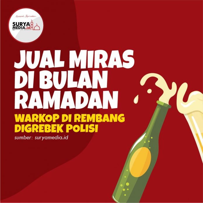 Jual Miras di Bulan Ramadan, Warkop di Rembang