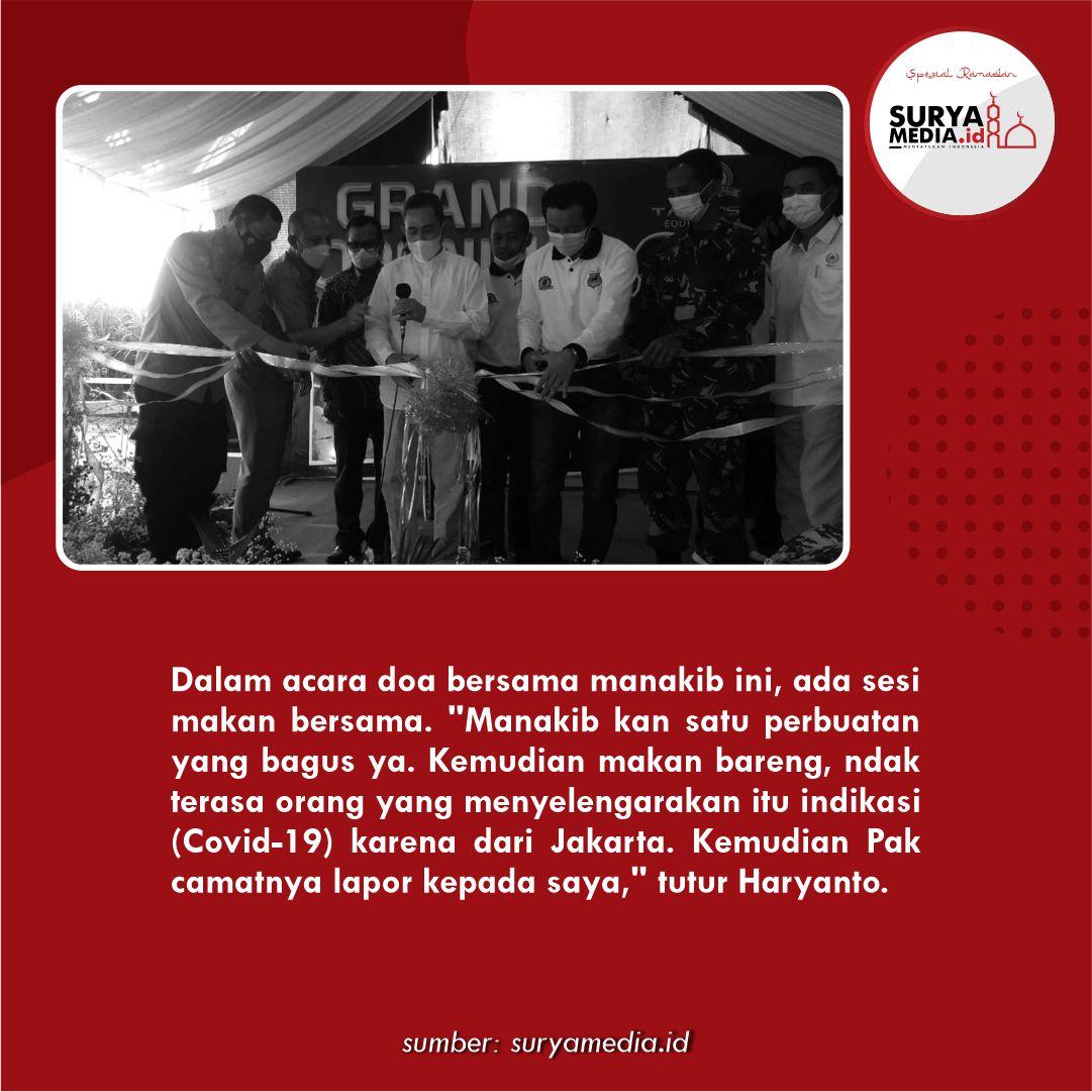 Klaster Manakib di Kecamatan Gabus Pati, Puluhan Orang Positif Covid-19 C