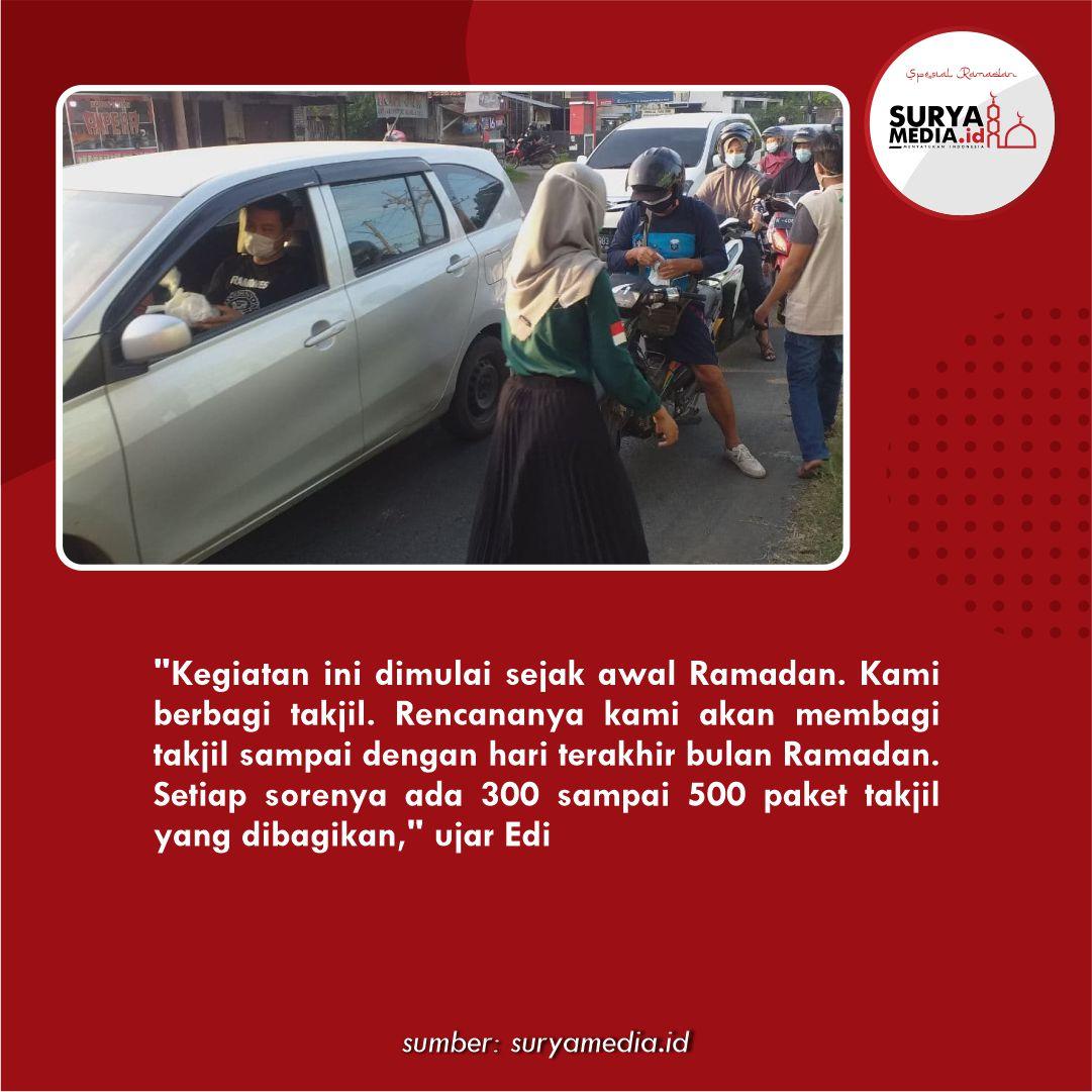 NU Peduli Pati Bagikan hingga 500 Takjil per Hari di Bulan Ramadan C