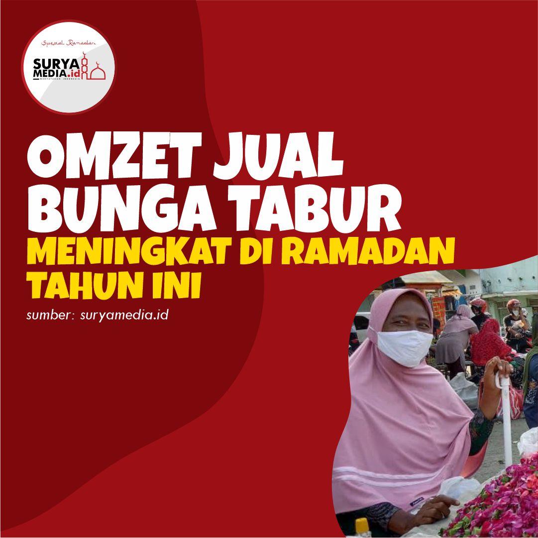 Omzet Jual Bunga Tabur Meningkat di Ramadan Tahun Ini A