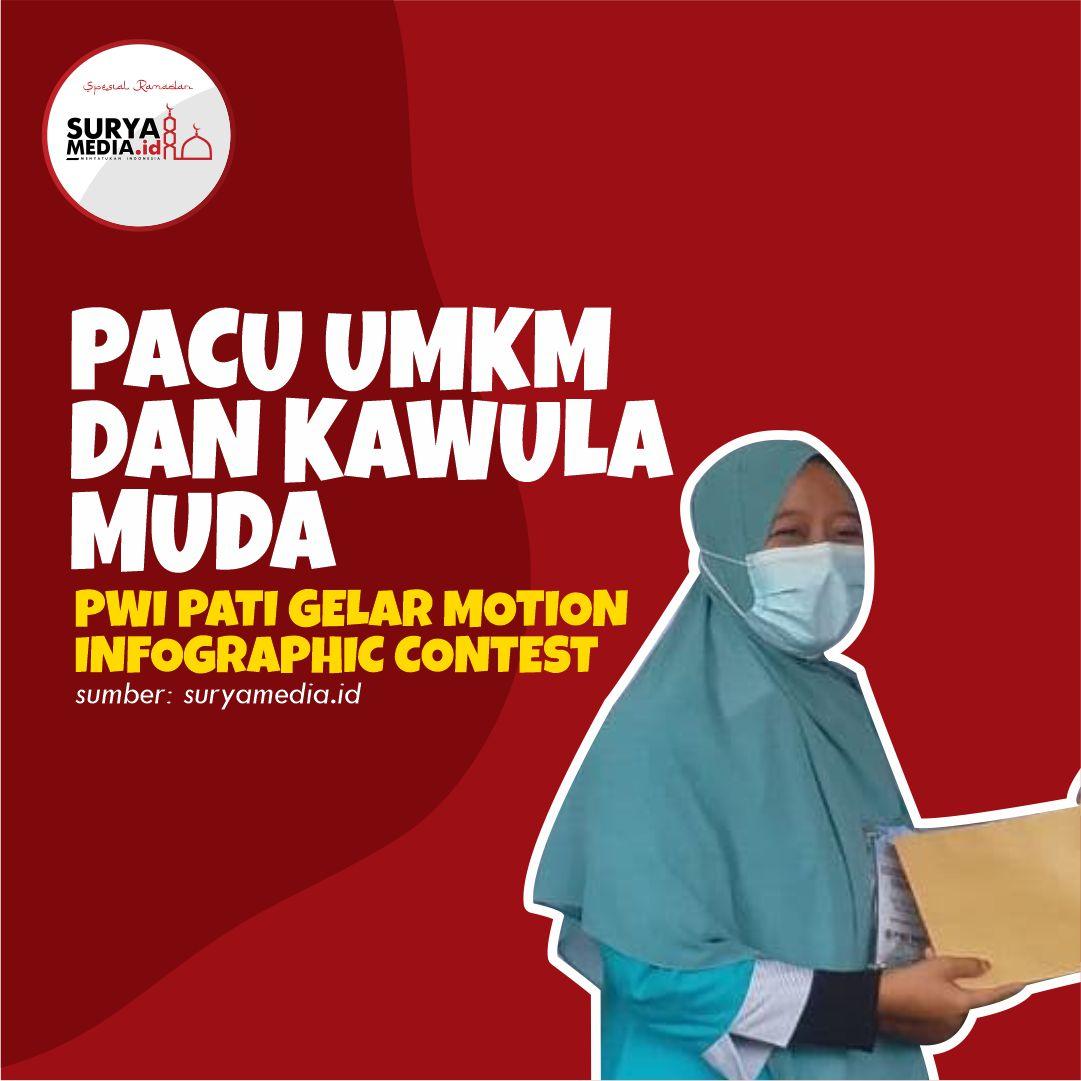 Pacu UMKM dan Kawula Muda, PWI Pati Gelar Motion Infographic Contest A