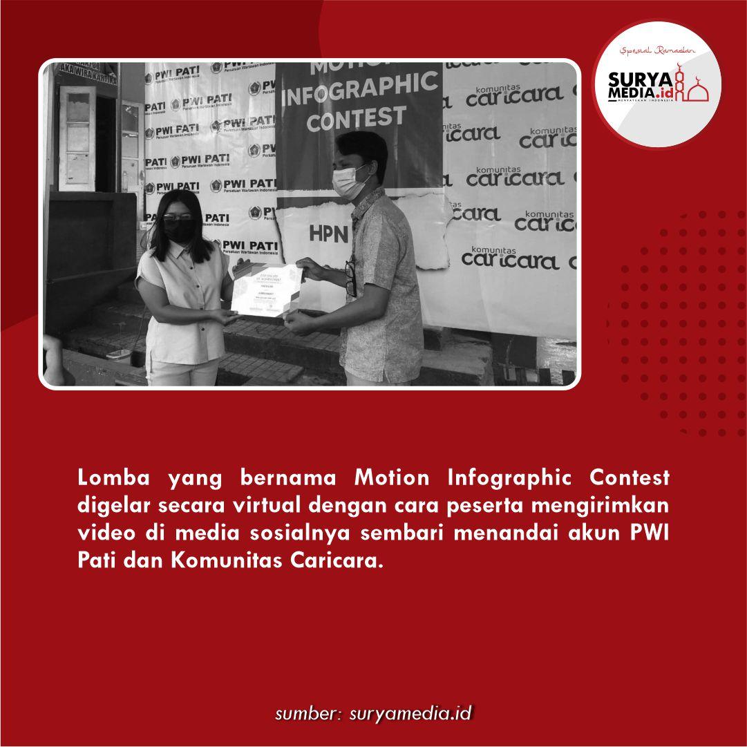 Pacu UMKM dan Kawula Muda, PWI Pati Gelar Motion Infographic Contest C