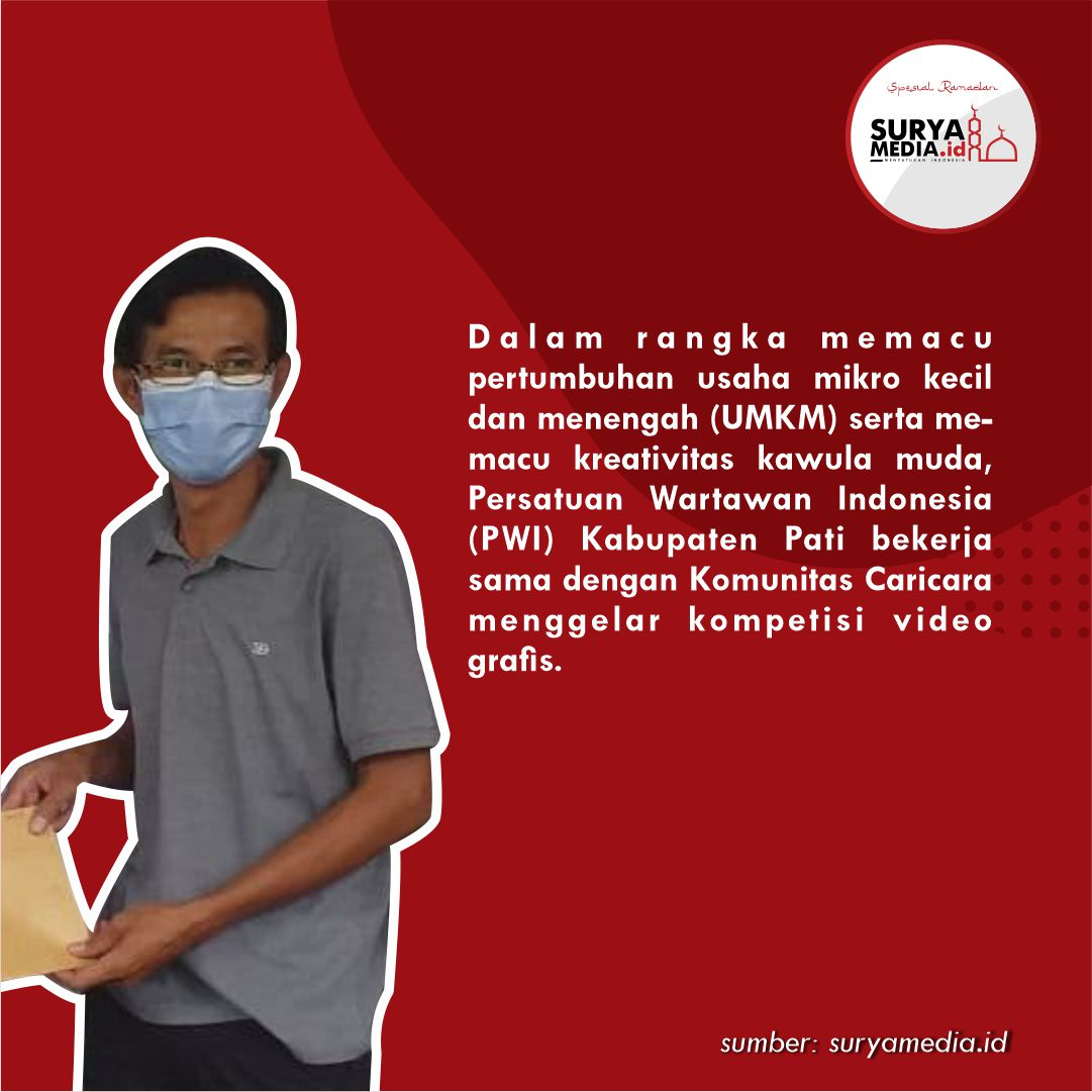 Pacu UMKM dan Kawula Muda, PWI Pati Gelar Motion Infographic Contest b