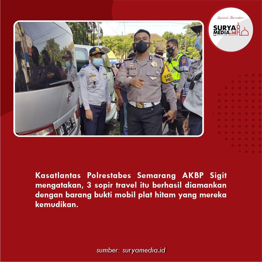 Polisi Amankan 3 Travel Gelap, Langsung Dikandangkan C