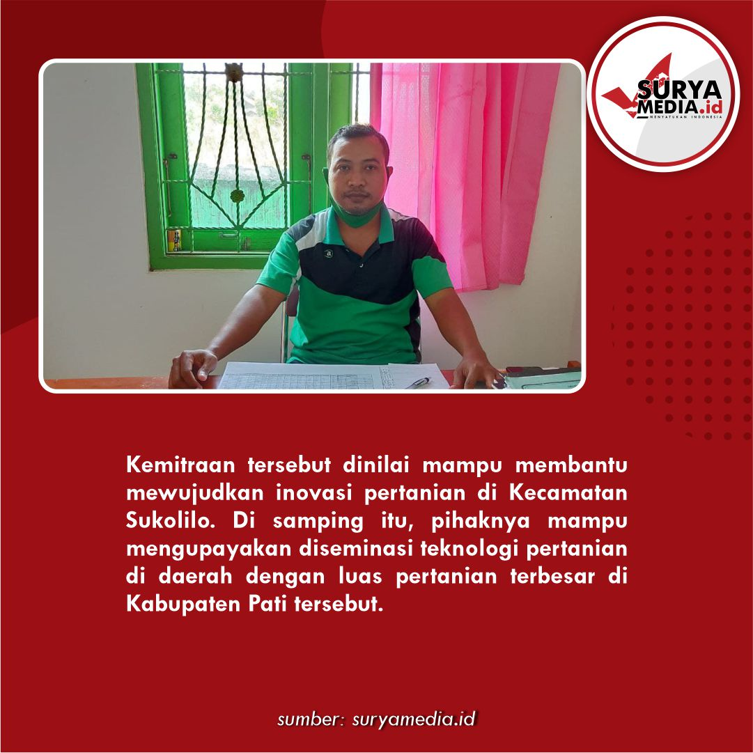 Wujudkan Inovasi dan Diseminasi Teknologi, BPP Sukolilo Gandeng BPTP Jawa Tengah C
