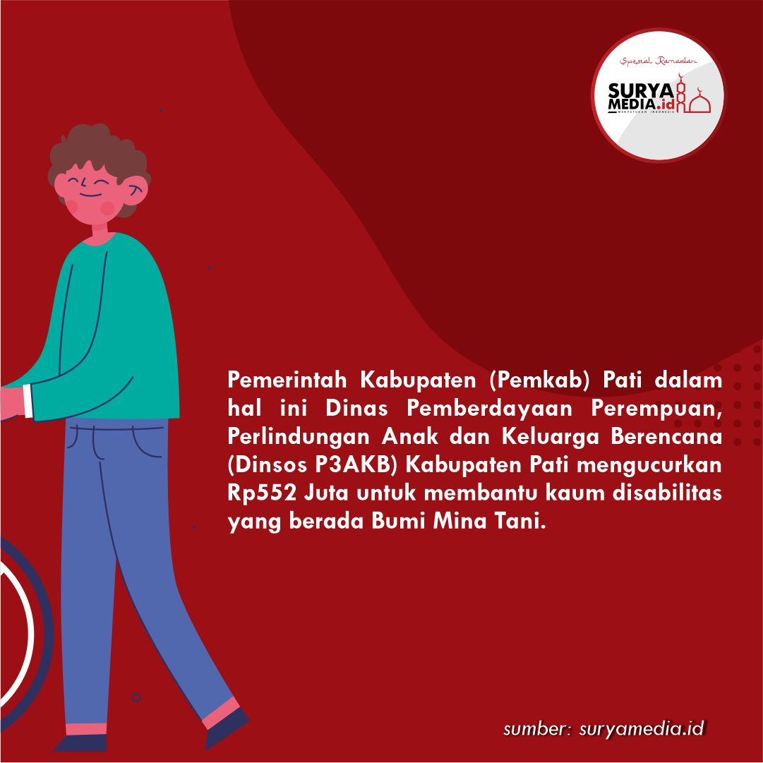 Pati Kucurkan Rp552 Juta untuk Bantu 184 Disabilitas Pati B