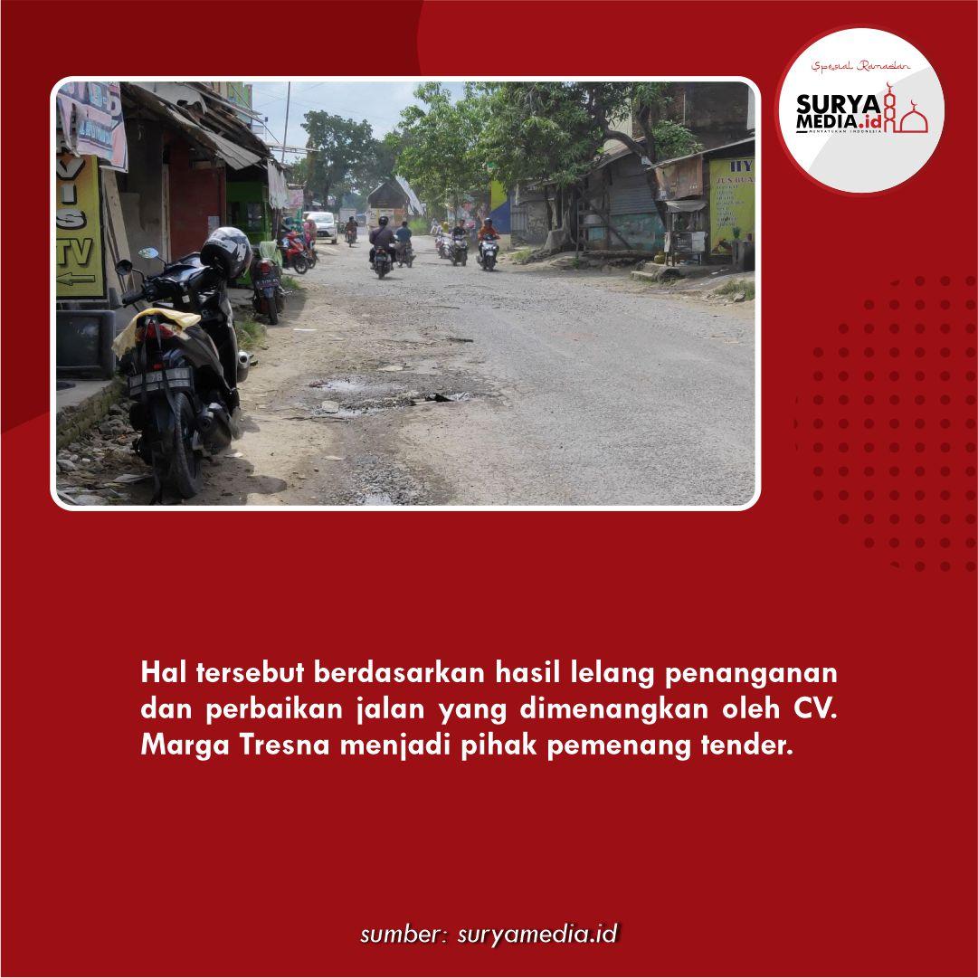 Perbaikan Ruas Jalan Depan Pasar Kayen Dilaksanakan Setelah Lebaran C