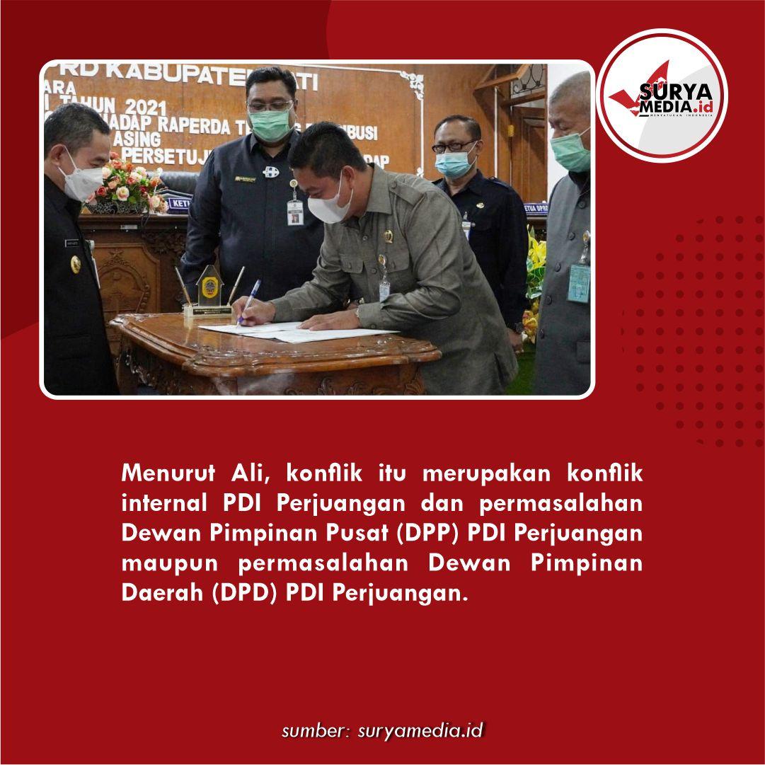 Soal Konflik Puan vs Ganjar, Ketua PDI Perjuangan Pati No Comment C