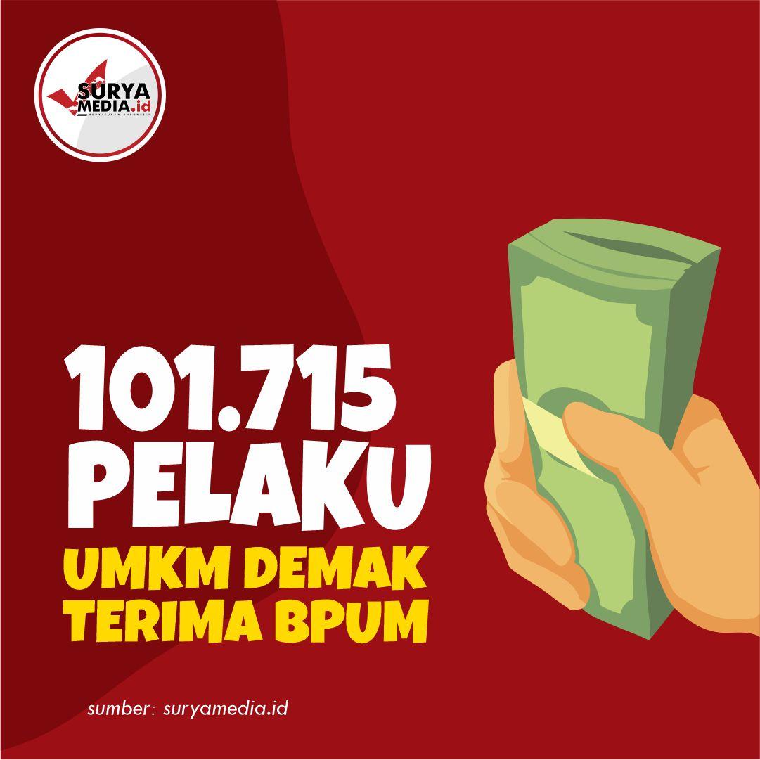 101.715 Pelaku UMKM Demak Terima BPUM A