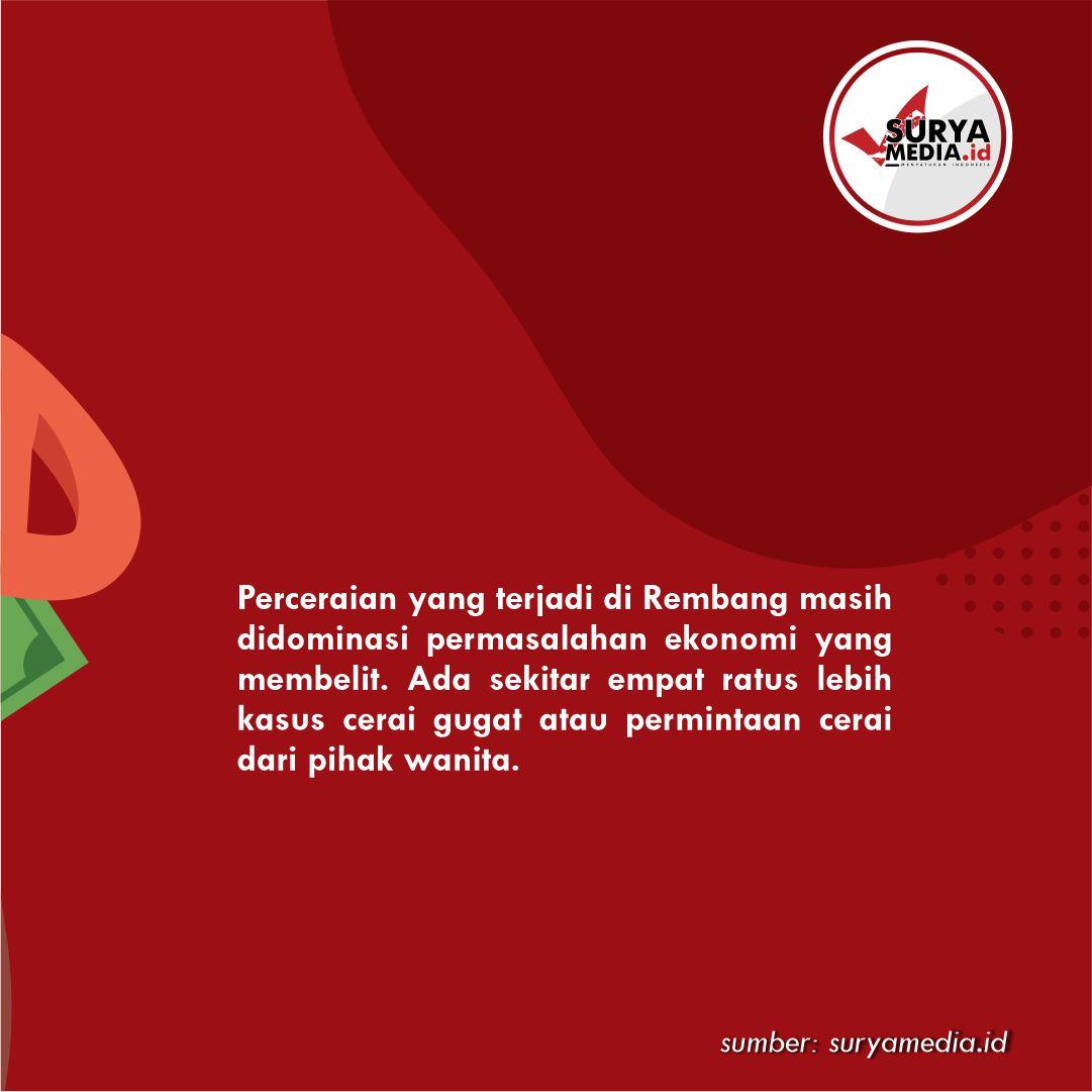 Faktor Ekonomi Dominasi Penyebab Perceraian di Rembang B