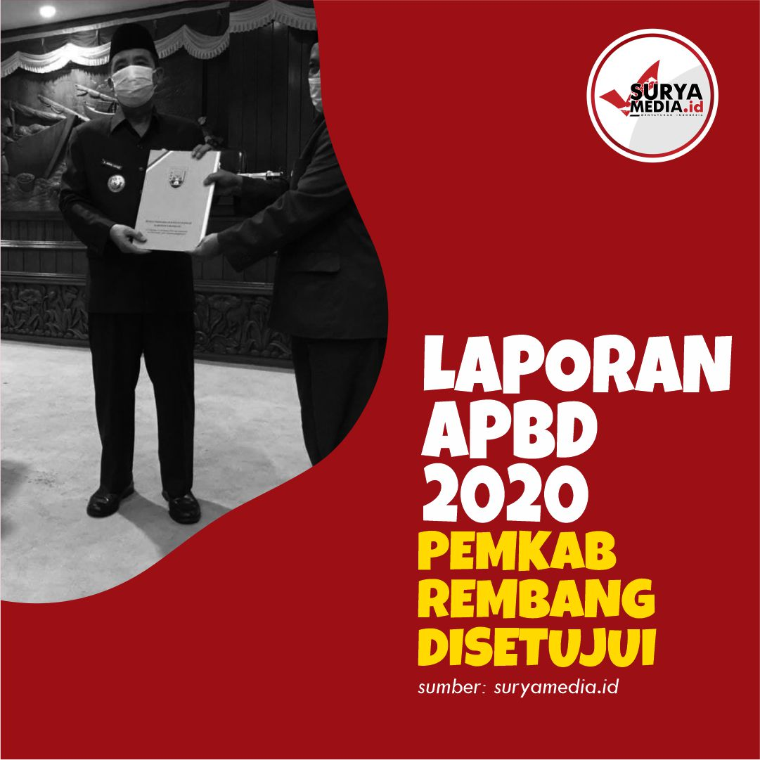Laporan APBD 2020 Pemkab Rembang Disetujui A