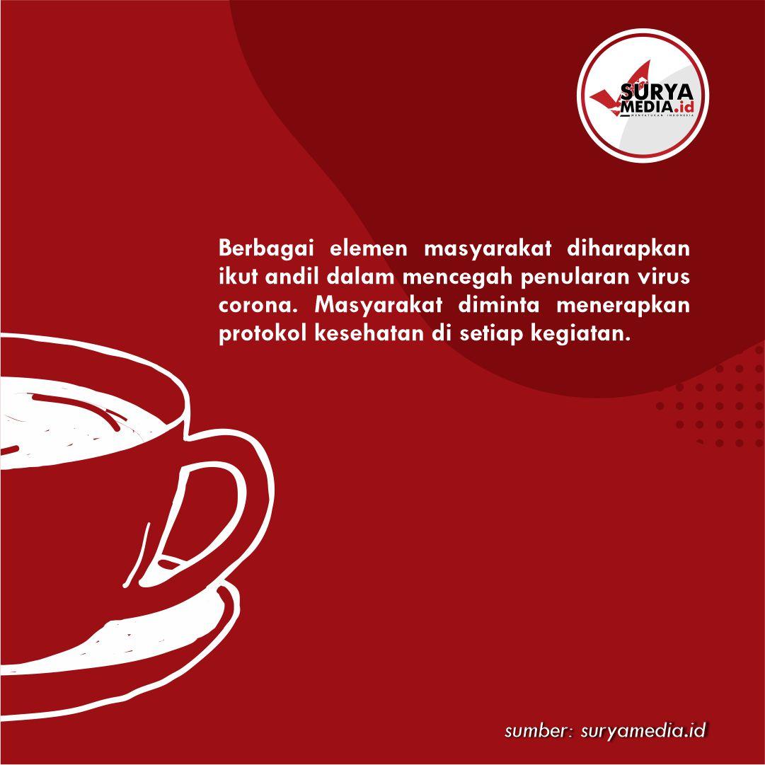 Minimalisir Penularan Covid-19, Coffee Shop Pati Gerakkan Tagar Bungkus Wae B
