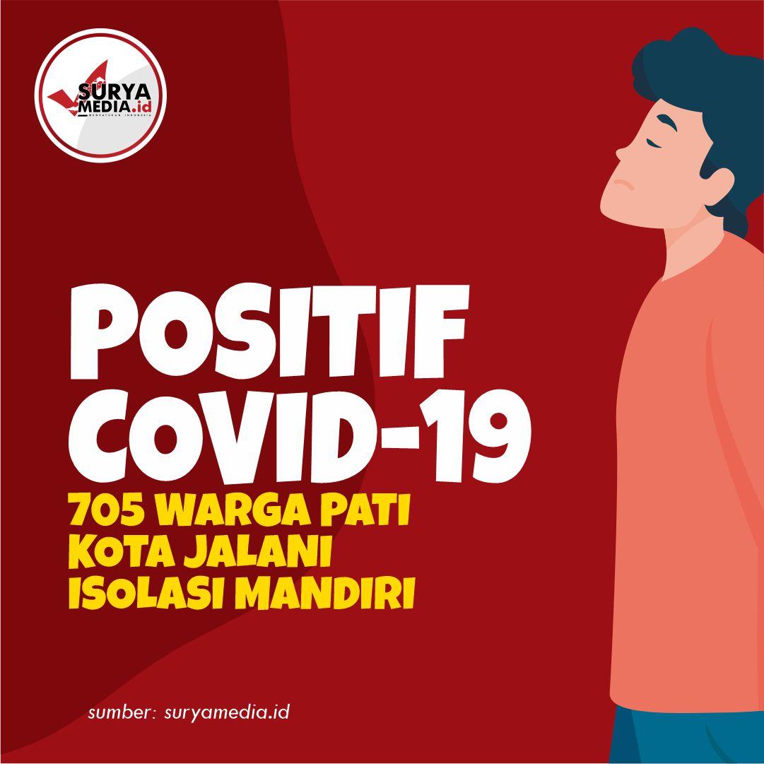 Positif Covid-19, 705 Warga Pati Kota Jalani Isolasi Mandiri A