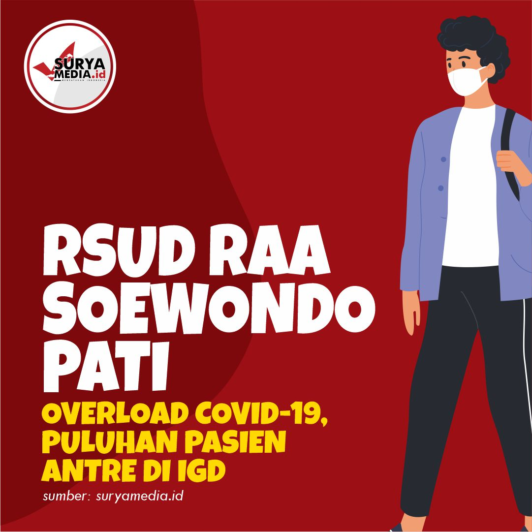 RSUD RAA Soewondo Pati Overload Covid-19, Puluhan Pasien Antre di IGD A