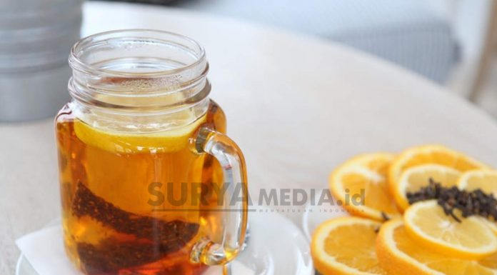 LEMON TEA, MINUMAN NIKMAT KAYA MANFAAT
