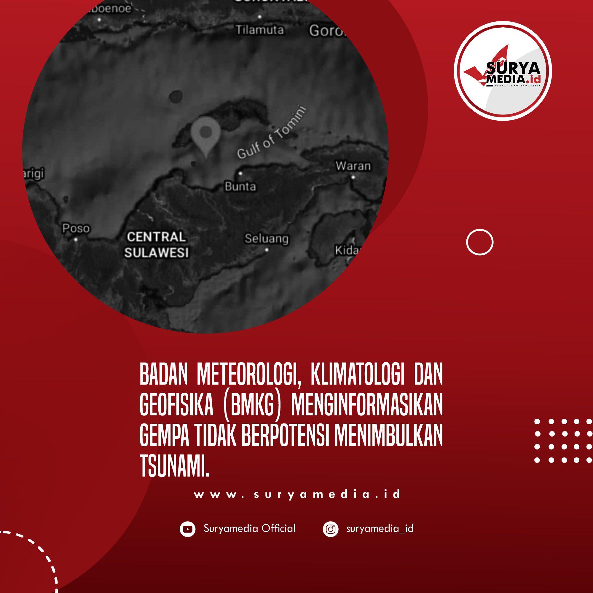 Gempa Berkekuatan M6,5 Guncang Tojo Una-Una, Warga Mengungsi ke Gunung