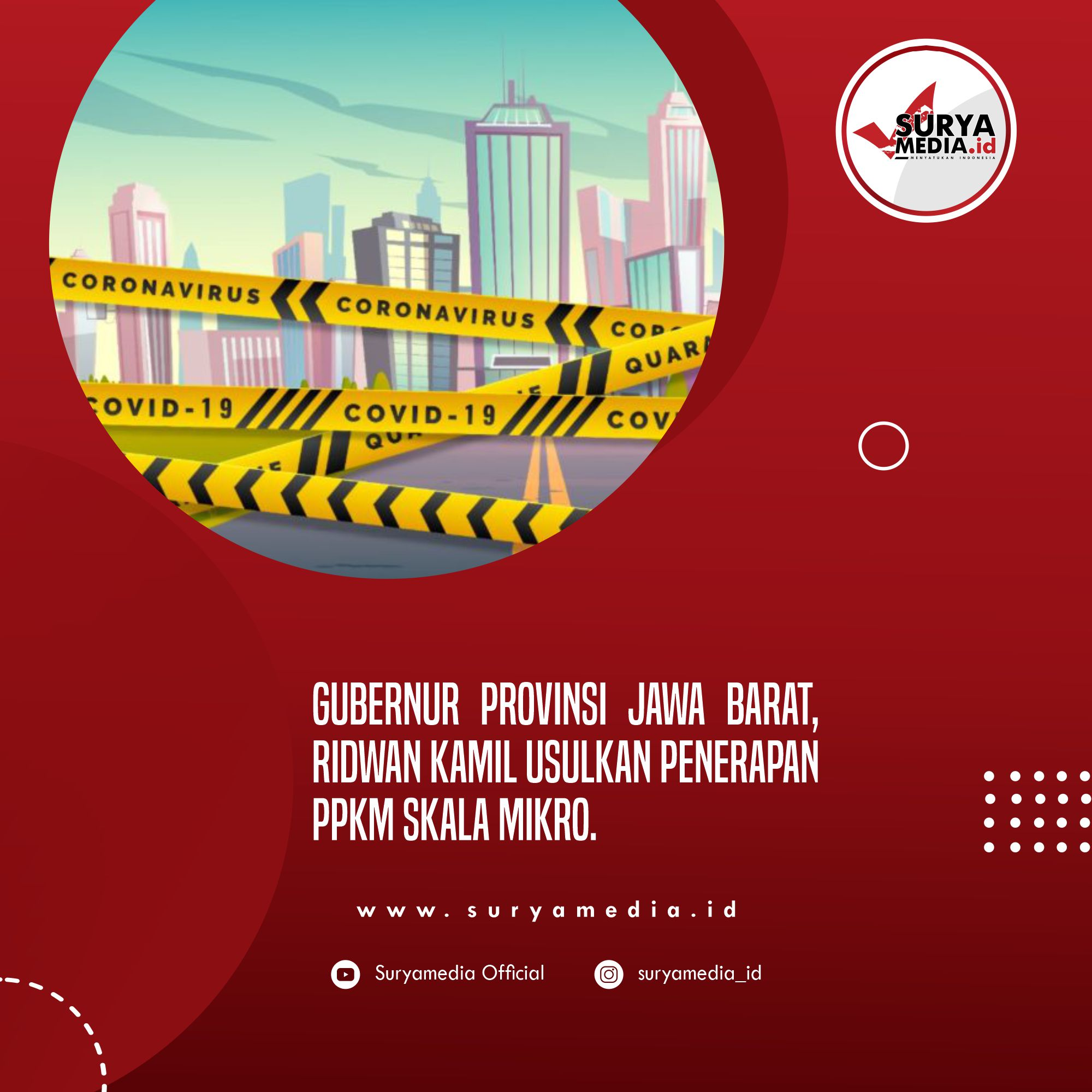 Keterisian Tempat Tidur Pasien Covid-19 Turun, Ridwan Kamil Usul Penerapan PPKM Mikro C