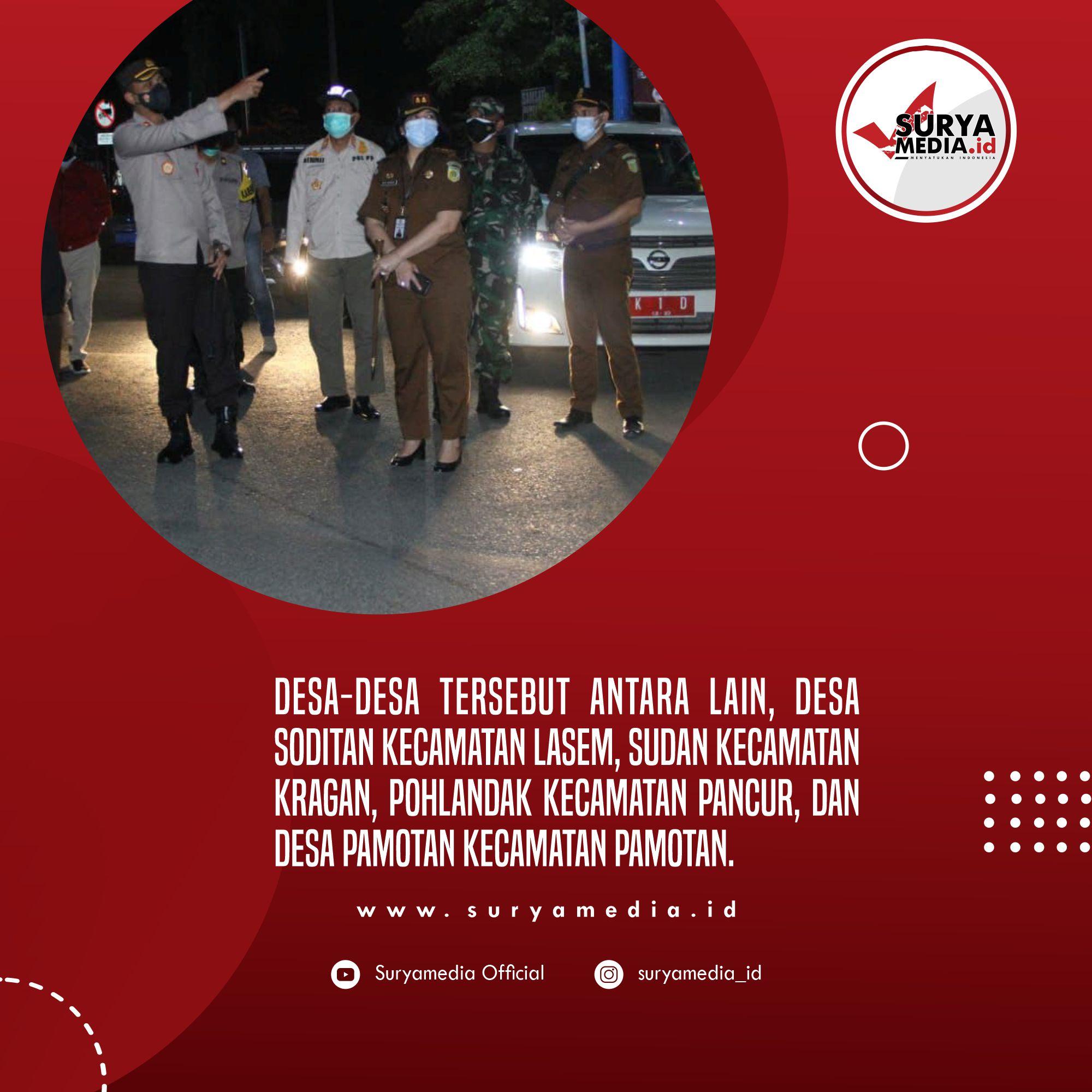 Partisipasi Masyarakat Rembang Terhadap PPKM Darurat Cukup Tinggi C
