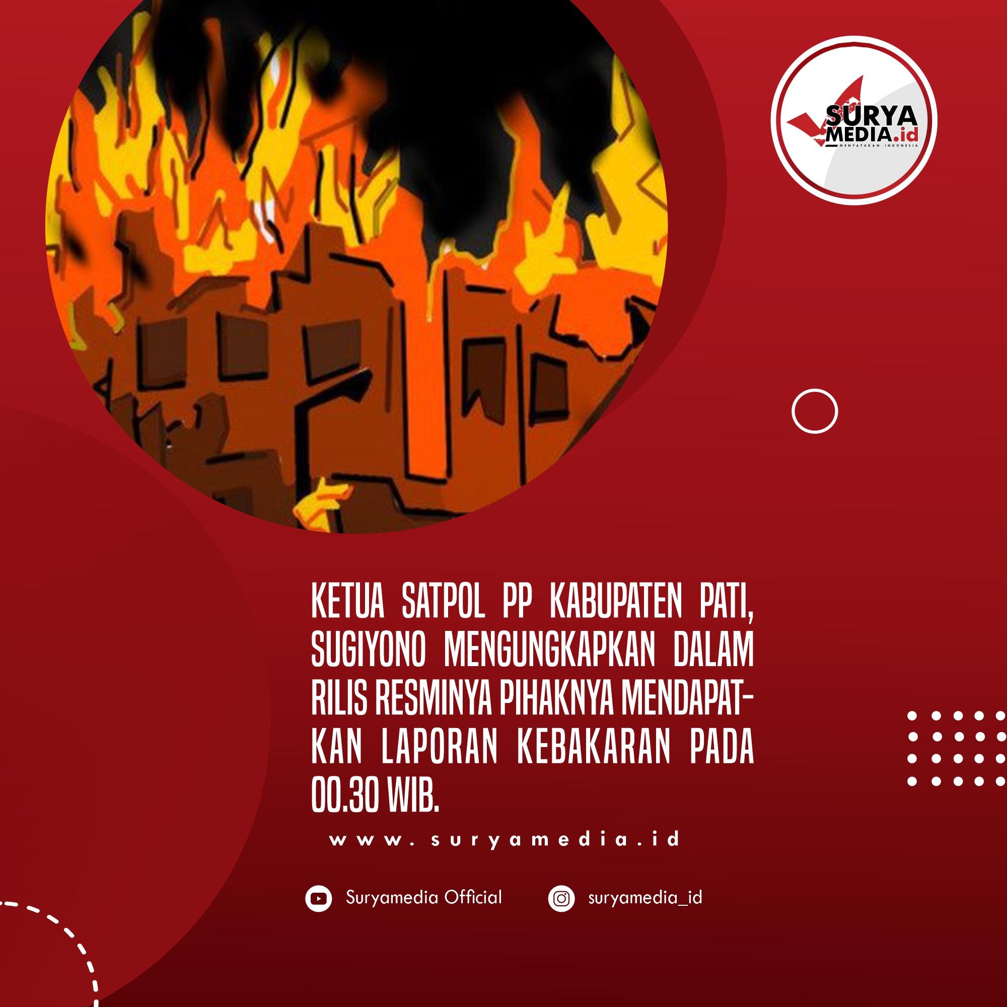 Akibat Bediang, Kandang Sapi Milik Warga Tambakromo Terbakar