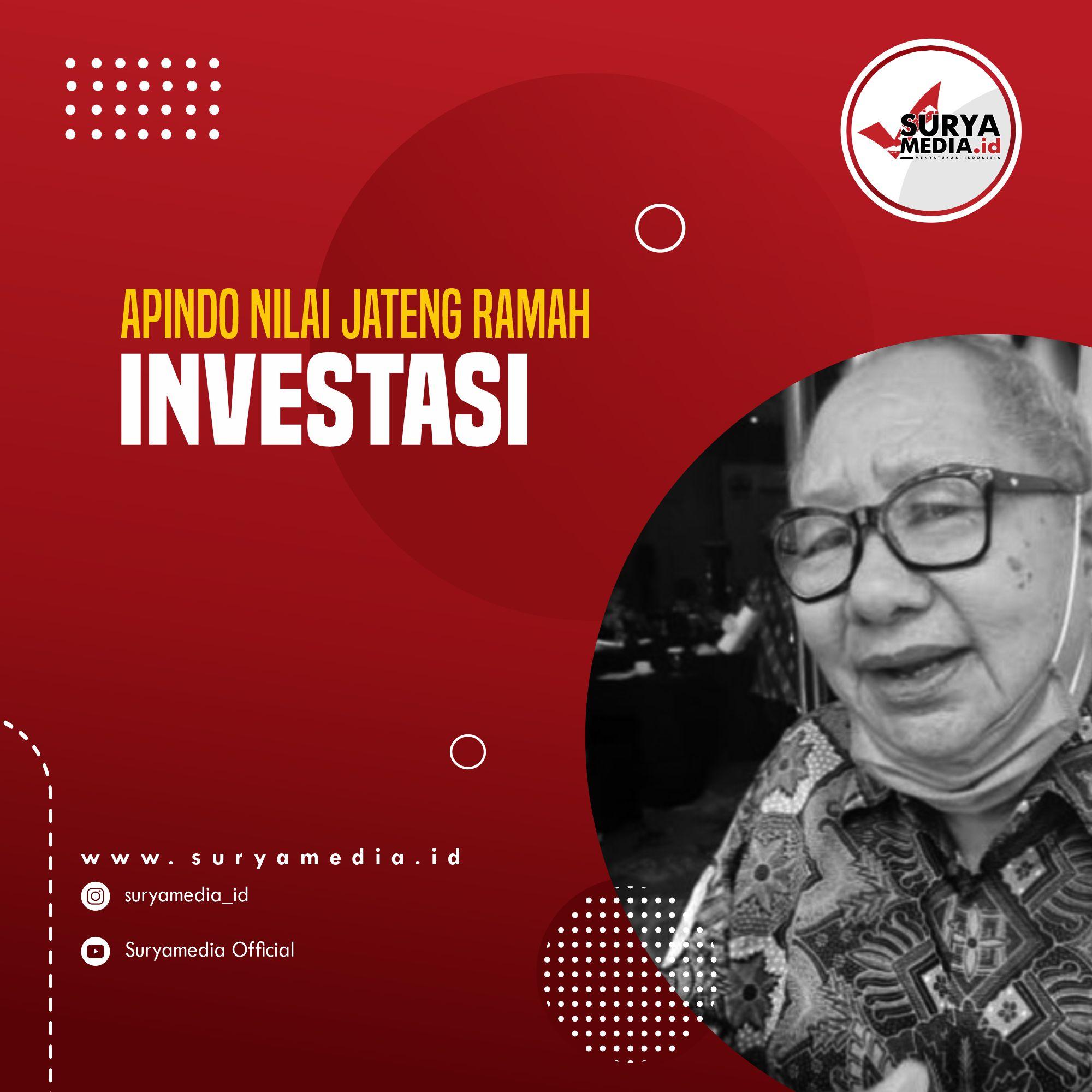 Apindo Nilai Jateng Ramah Investasi A