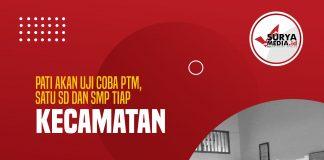 Pati Akan Uji Coba PTM, Satu SD dan SMP Tiap Kecamatan