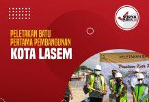 Peletakan Batu Pertama Pembangunan Kota Lasem