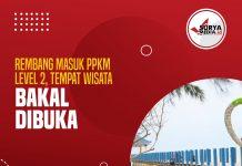 Rembang Masuk PPKM Level 2, Tempat Wisata Bakal Dibuka A
