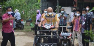 Bupati Jepara Apresiasi Pemodifikasi Motor Disabilitas
