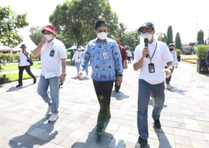 Simulasi Pembukaan Tempat Wisata, Candi Borobudur Layak Uji Coba