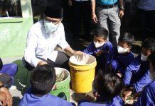 Peringati World Cleanup Day, Pelajar di Temanggung Lakukan Gerakan Pilah Sampah