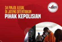 34 Pinjol Ilegal di Jateng Ditertibkan Pihak Kepolisian