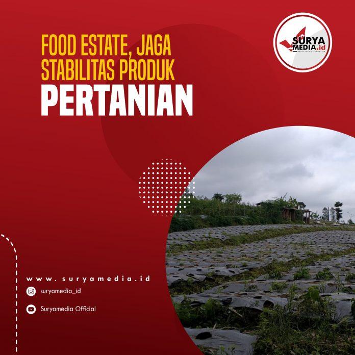 Food Estate, Jaga Stabilitas Produk Pertanian