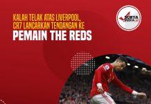 Kalah Telak atas Liverpool, CR7 Lancarkan Tendangan ke Pemain The Reds