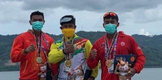 Atlet Dayung Demak Peroleh Medali Perak Pada PON XX Papua