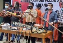 Rugikan Miliaran Rupiah, Komplotan Pencuri Kelapa Sawit Diamankan