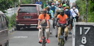Wali Kota Se-Indonesia Bersepeda Menikmati Keindahan Kota Yogyakarta
