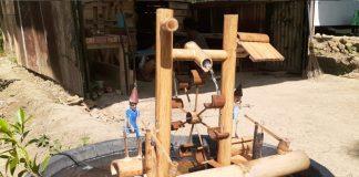 Suvenir Miniatur Kincir Air Diminati Wisatawan di Objek Wisata Blora