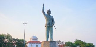 Akan Jadi Ikon Baru Semarang, Patung Bung Karno di Polder Tawang Sudah Diresmikan